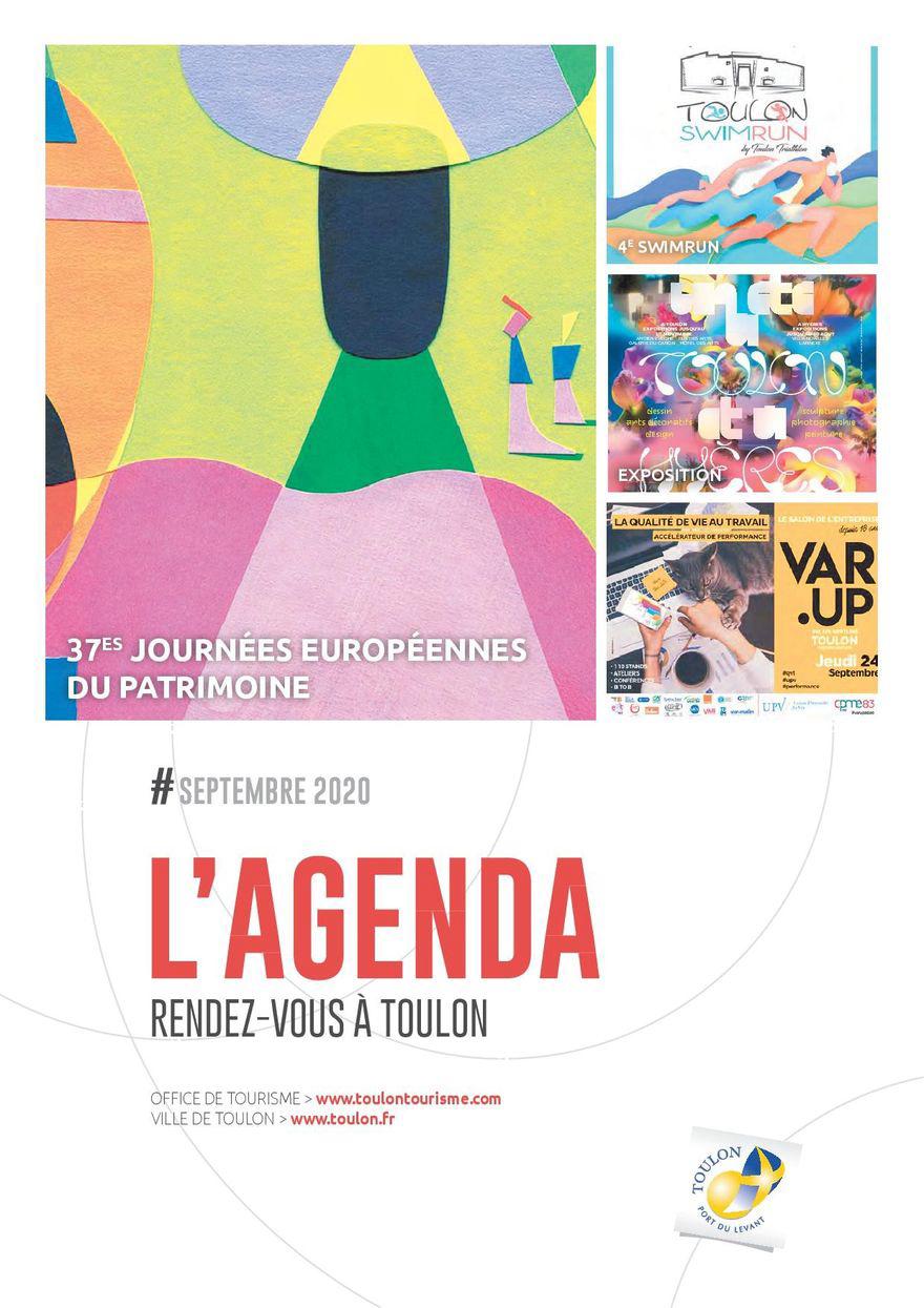 Agenda de Toulon - septembre & octobre 2020