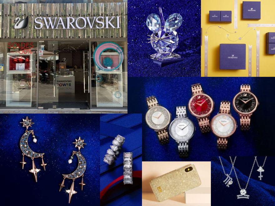 Call & collect chez Swarovski