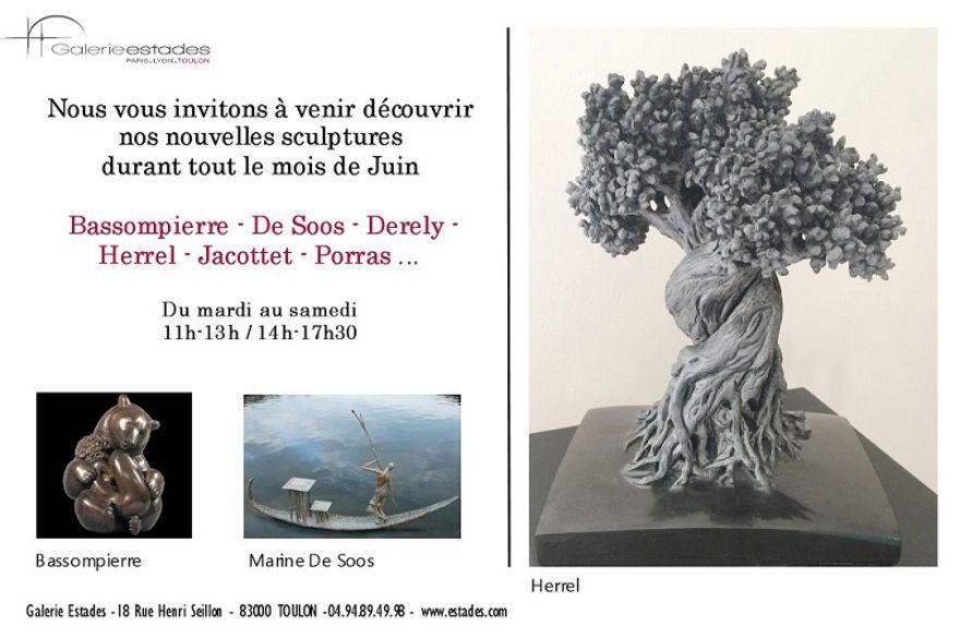 De nouvelles sculptures à la Galerie Estades