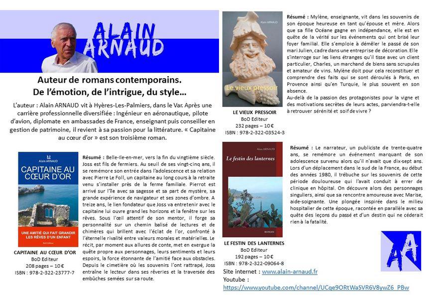 Dédicace par Alain ARNAUD