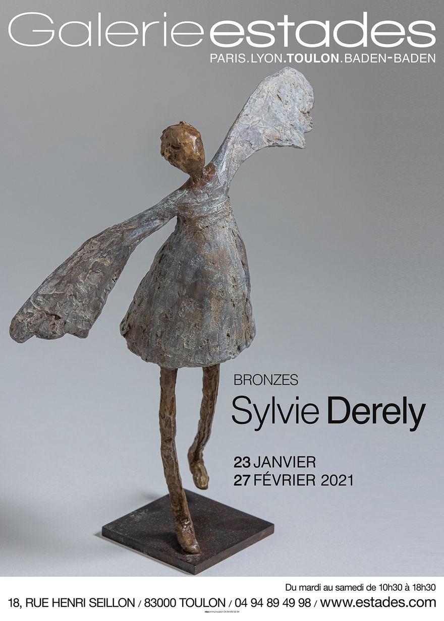 Exposition des sculptures de Sylvie Derely à la Galerie Michel Estades