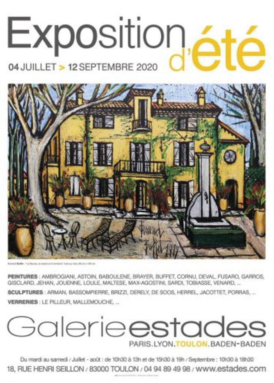 Exposition estivale - Galerie Michel Estades