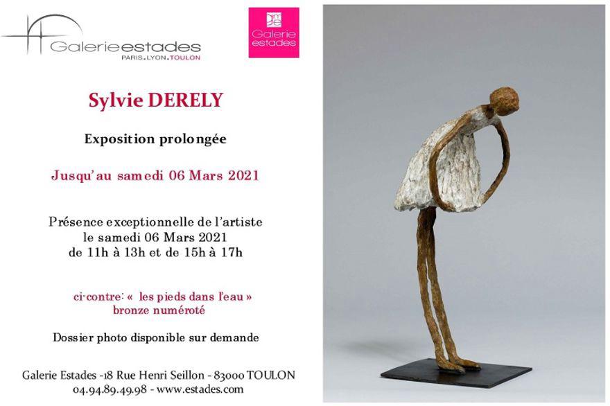 Galerie Estades : L'exposition Sylvie Derely prolongée jusqu'au 6 mars ❤️