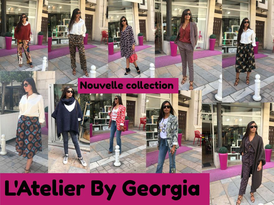 L'Atelier By Georgia vous présente sa nouvelle collection