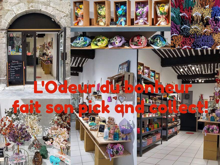 L'Odeur du Bonheur fait son pick and collect!