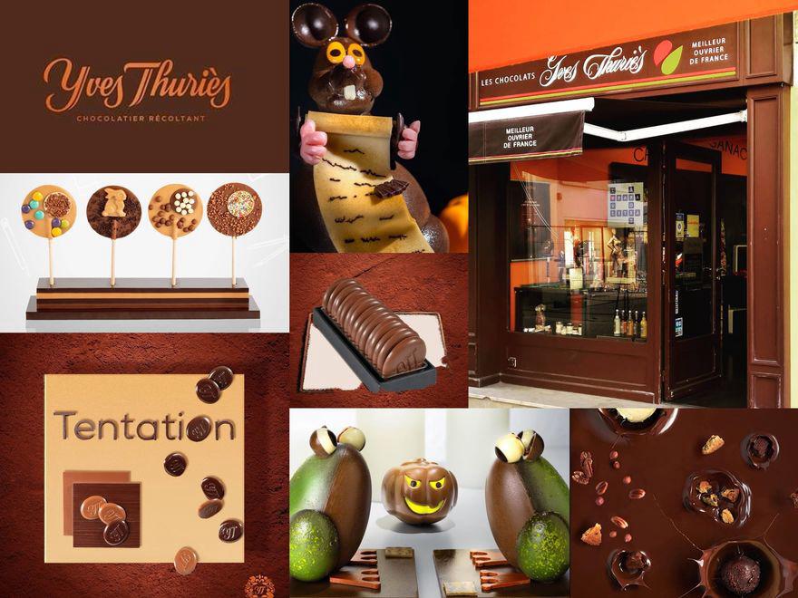 Les chocolats Yves Thuriès continuent à vous régaler du mardi au samedi de 9h à 18h ❤️