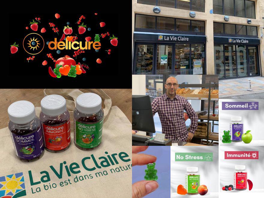 """Les """"GUMMIES"""" Délicure sont arrivées à La Vie Claire!"""