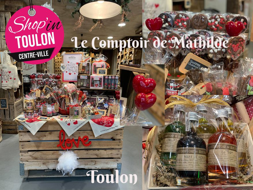 LOVE au Comptoir de Mathilde