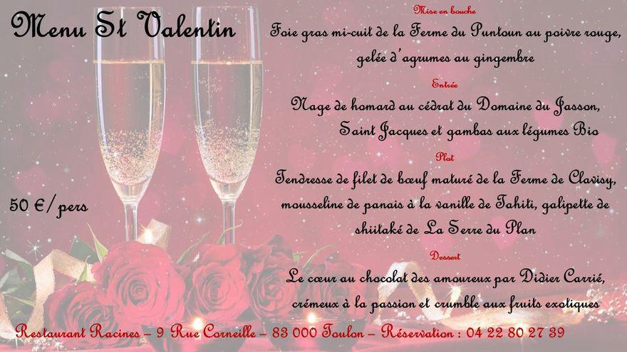 Pour la Saint Valentin enRACINEz-vous! ❤