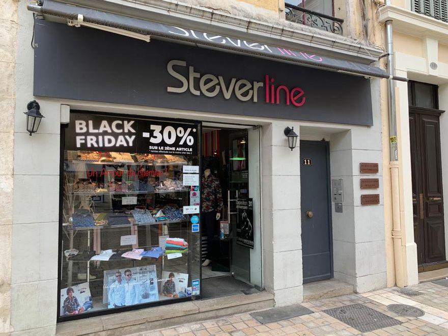 Steverline continue à vous servir en ligne!