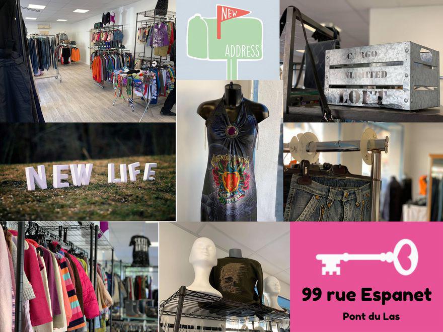 Votre boutique New Life change d'adresse ✉️