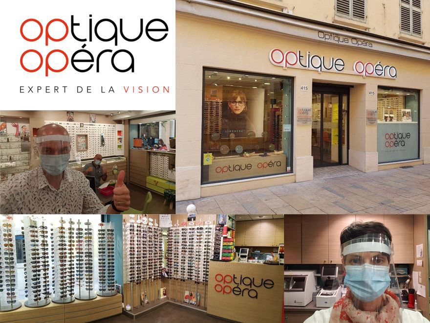 Votre boutique Optique Opéra vous accueille pendant le confinement.