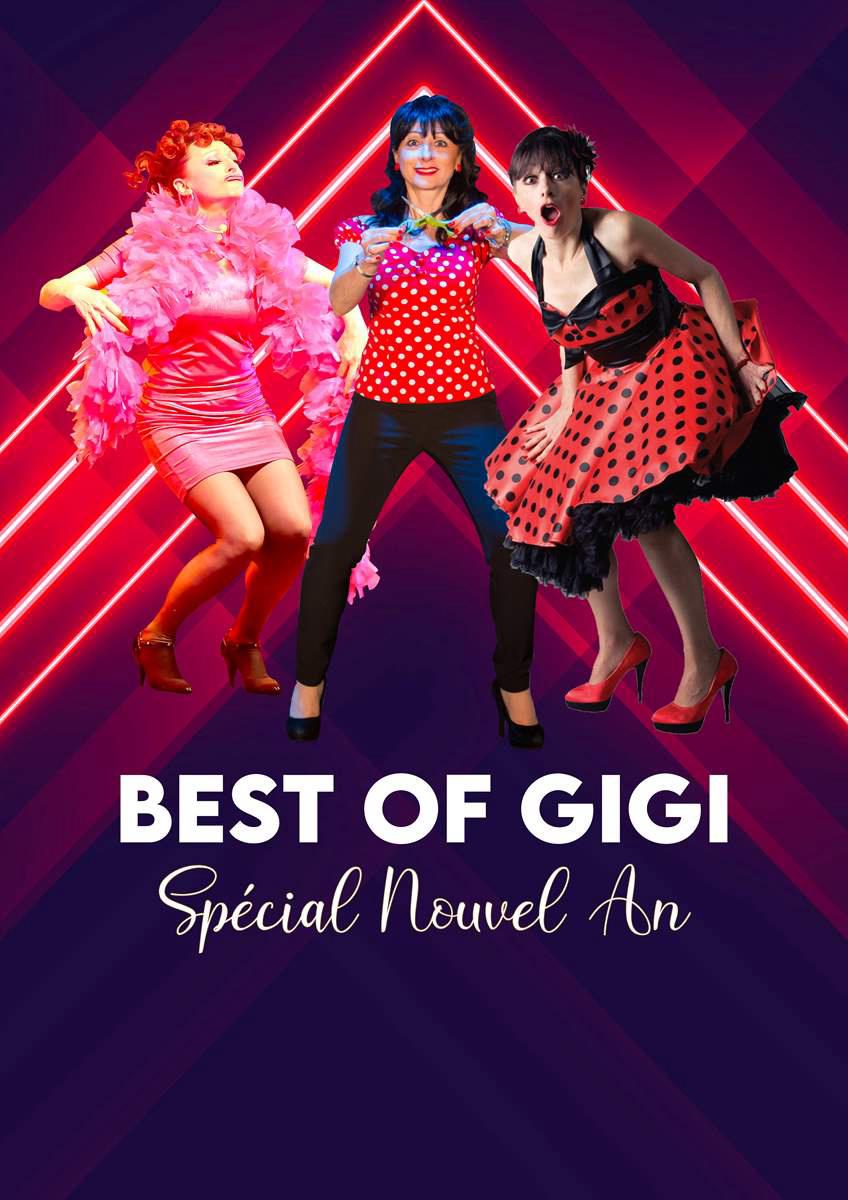 Spectacle : «Gigi Best Of»  au Café Théâtre Liberté