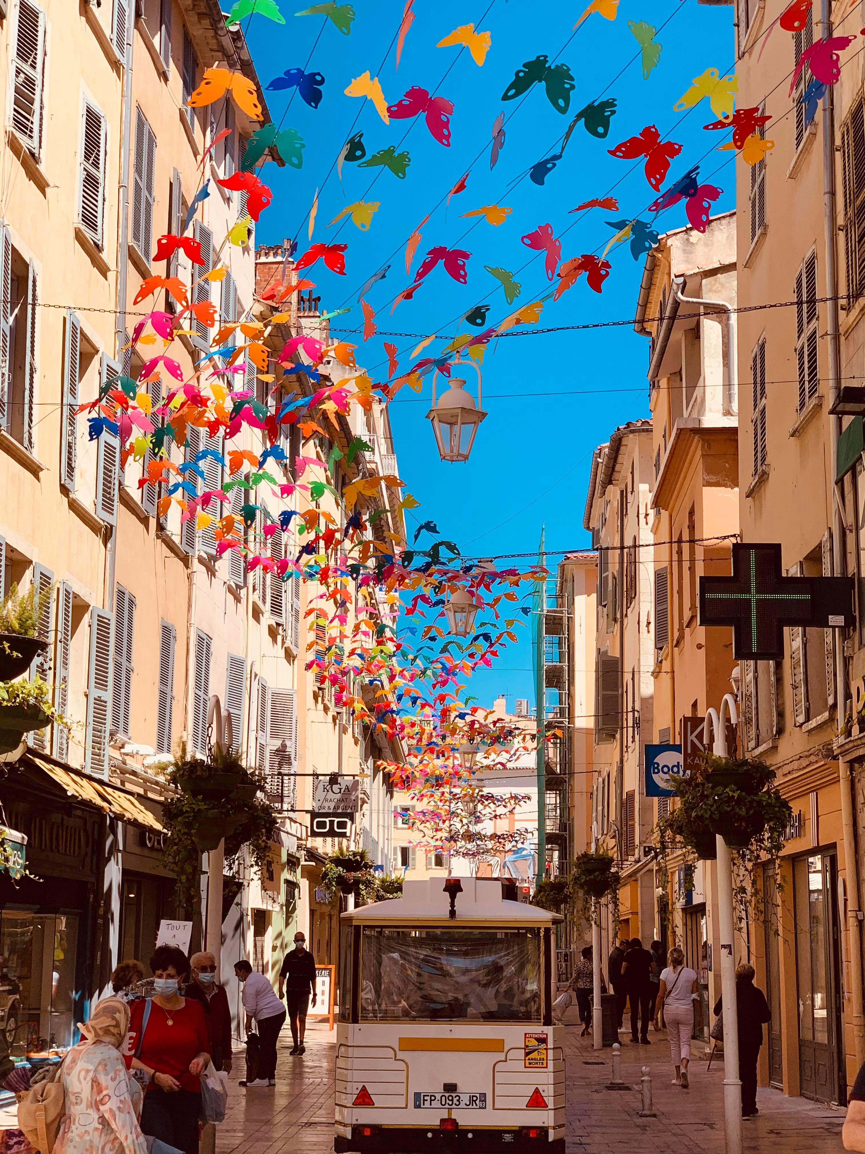 Effet Papillons à Toulon