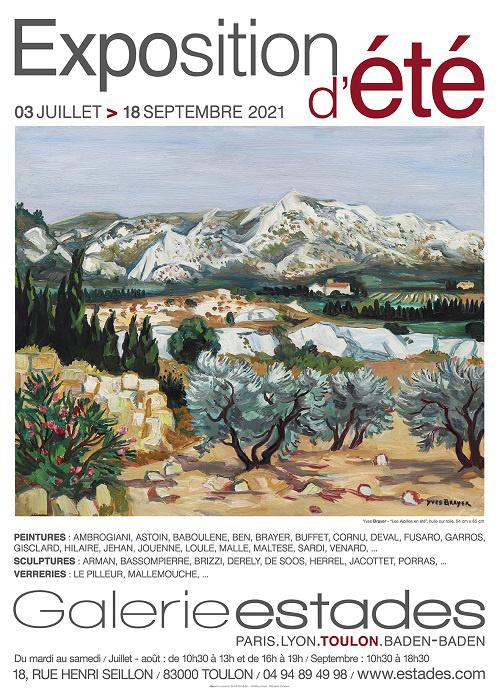 Exposition d'été à la Galerie Estades