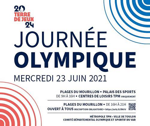 Mercredi 23 juin : Journée Olympique à Toulon