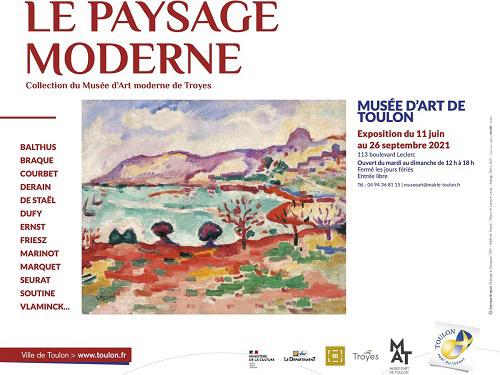 Exposition - Le paysage moderne