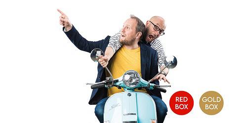 Oldelaf et Alain Berthier au théâtre Colbert